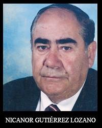 NICANOR GUTIÉRREZ LOZANO